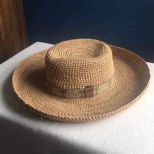 Scala raffia sun / beach hat, OS